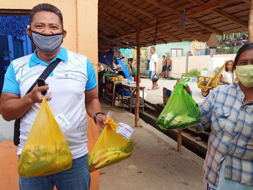 Hinatuan Mining Corp. (NAC-HMC) Host Community Receive 2 Kilos of Bangus per Household