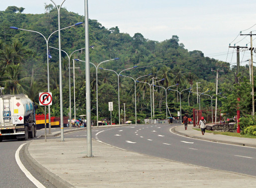 Construction of Lae-Nadzab Road Underway, and Other Projects