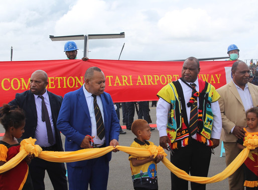 Tari Airport Reopens on Independence Day