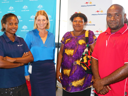 Male midwife proud to be serving mothers and babies in Morobe