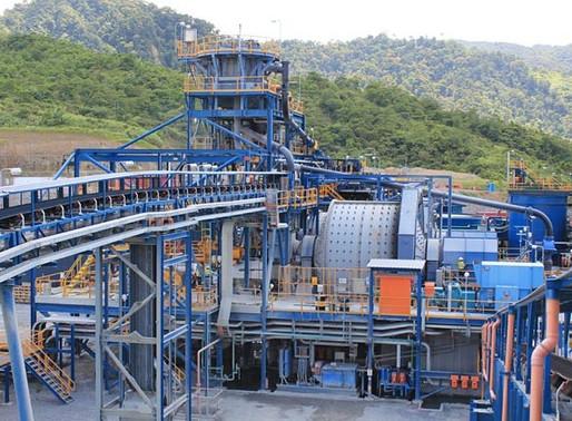 PH's metals output, value decline