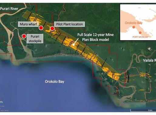 Firm applies for lease after announcement of ore reserve