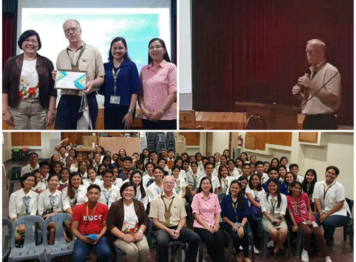 German Geologist Conducts Lecture About Taal Volcano