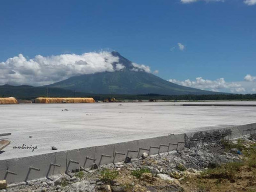Bicol International Airport now 72% Complete