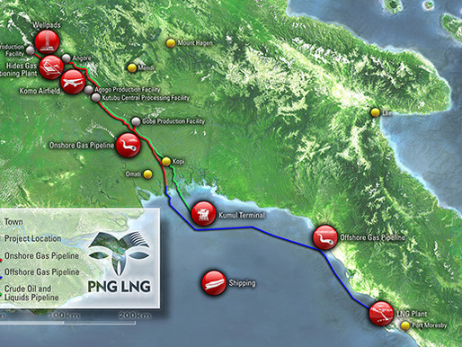 PNG LNG Operating Well, According to Report