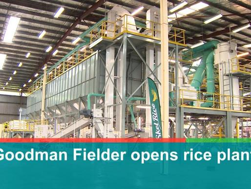 Goodman Fielder opens K10.2mil Rice Plant in Port Moresby
