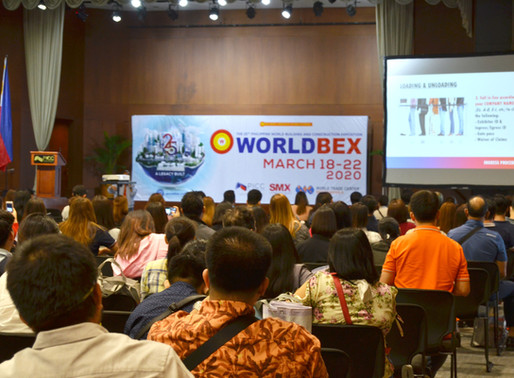 25th Worldbex all set for March 2020