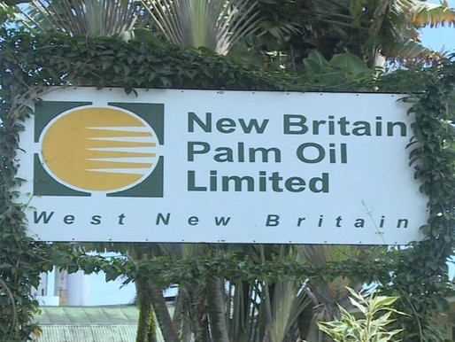 New Britain Palm Oil Ltd Tops Global Rankings