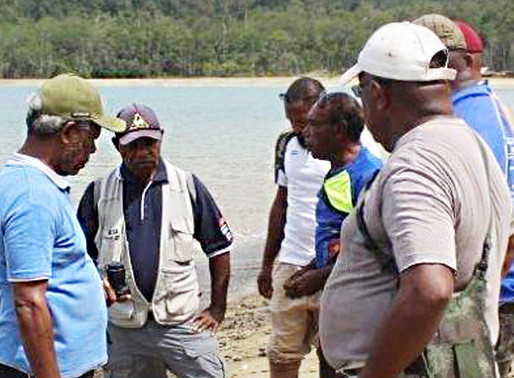 Huon Gulf Fishery Projects Underway
