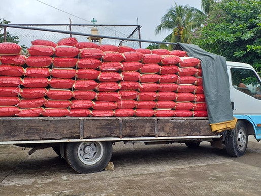 NAC-HMC Provides Rice to Tagana-an and Host Communities