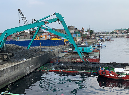 SMC invests in massive dredging in NCR ahead of airport construction