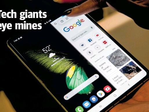 New World Economy - Tech Giants Go Into Mining