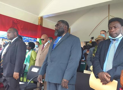 Marape says he's committed to empowering Bougainville