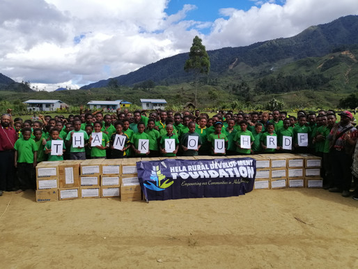 NKW Group Assists Remote Schools in PNG