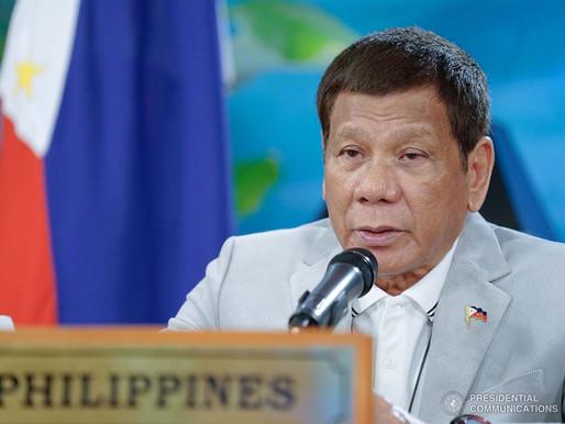 President Duterte at the 37th ASEAN Summit
