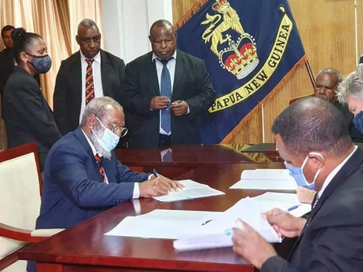 PNG and Total Sign Papua LNG Project Agreement