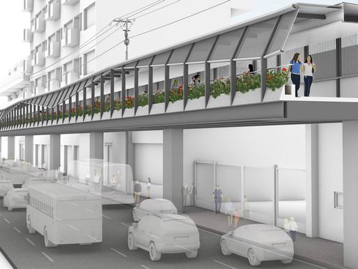 ADB Funds Walkway Construction