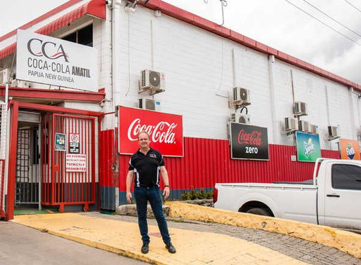 Coca-Cola's new facility under construction