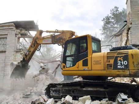 GAUDEAMUS - demolarea ilegală