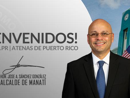 Apoyo total por parte del Hon. Alcalde José A. Sánchez González para los Atenienses de Manatí.