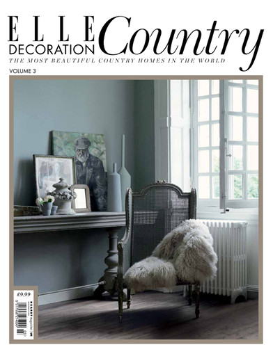 ELLE Decoration Country Book UK. Art Direction and layout.