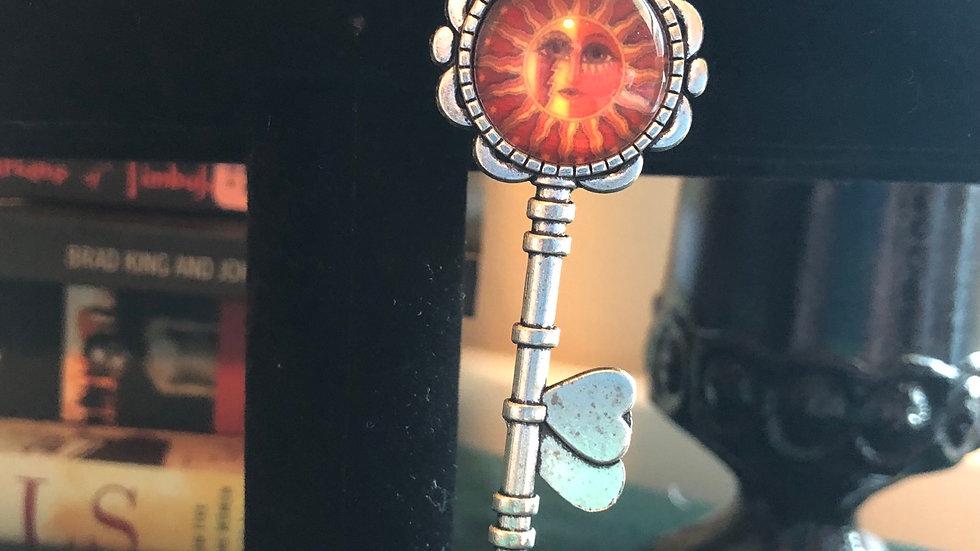 Sun Key Pendant