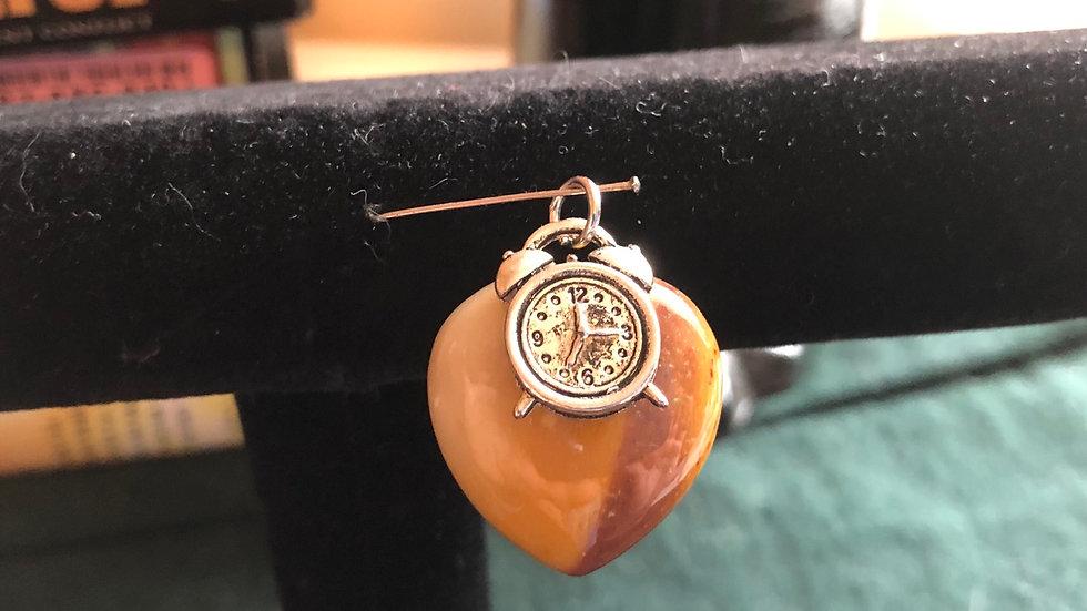 Moonakite Clock Pendant