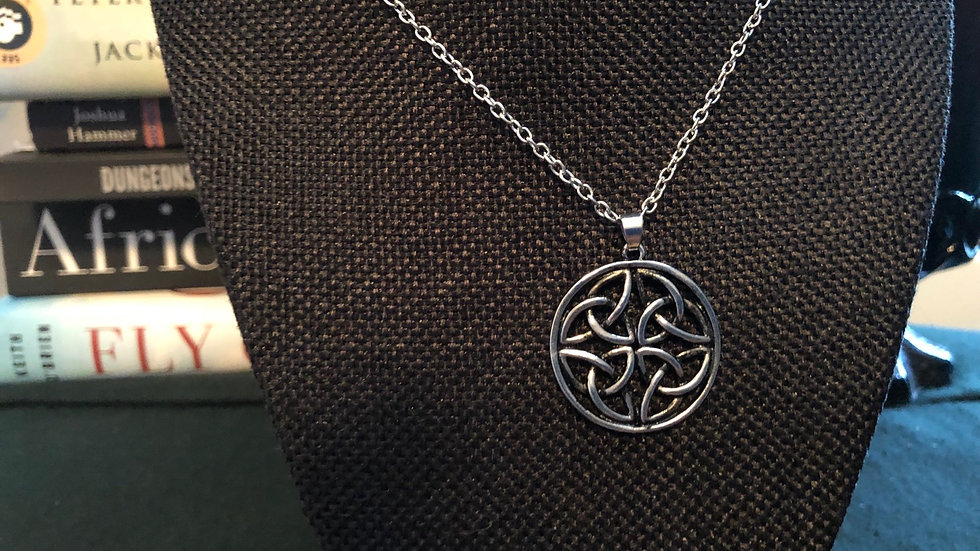 Celtic Necklace with Chain