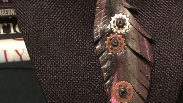 Clay Steampunk Feather