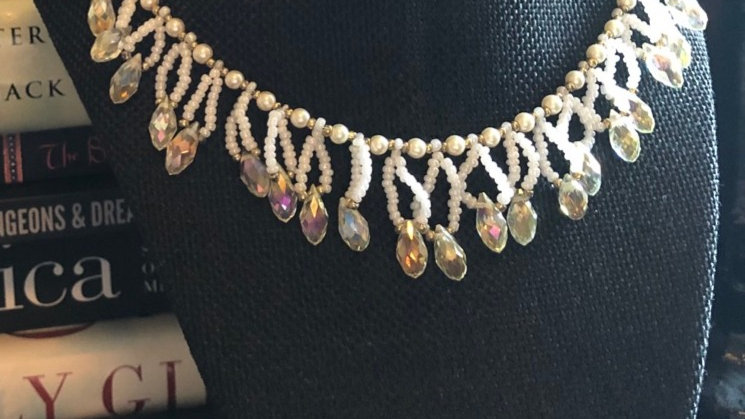 Hand-Beaded Necklace