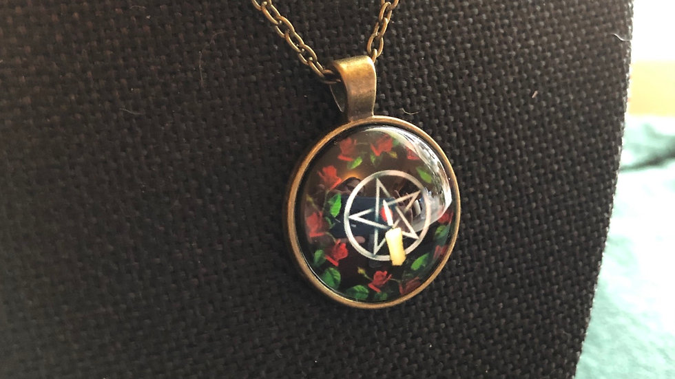 Pentacle Necklace with Chain