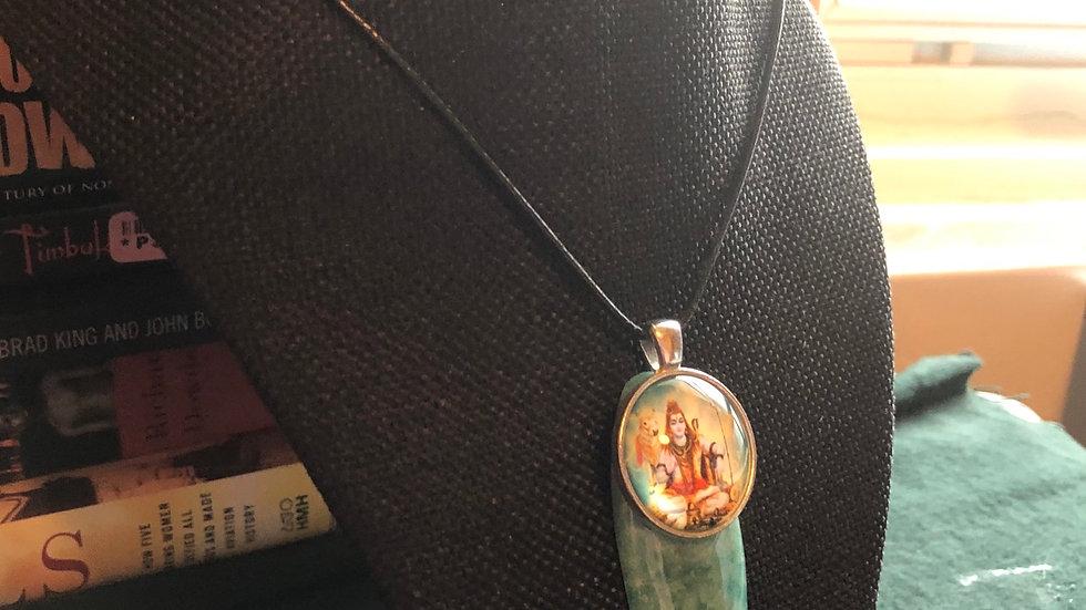 Amazonite Shiva Necklace