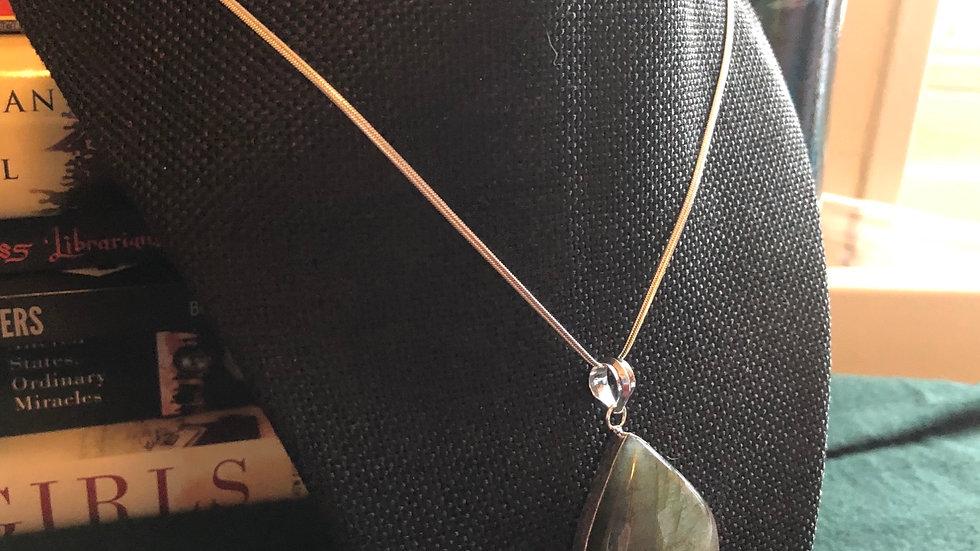 Labadorite Set Necklace