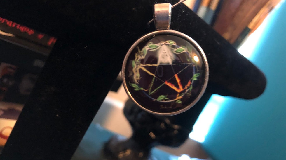 Elements Pentagram Charm