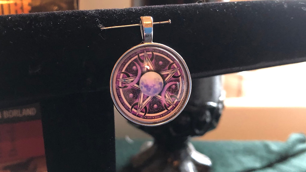 Purple Pentacle Pendant