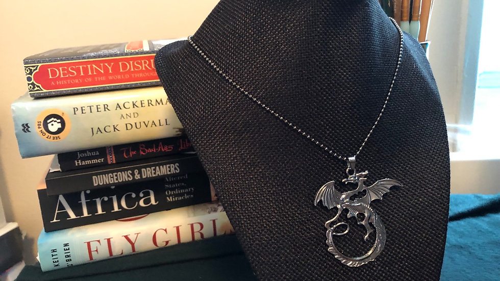 Dragon Necklace with Chain