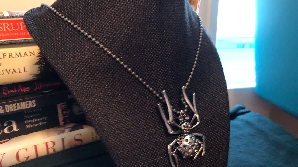 Spider Necklace with chain