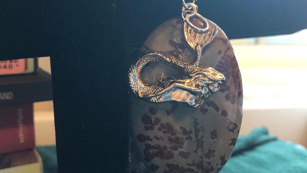 Chohua Jasper Mermaid Pendant