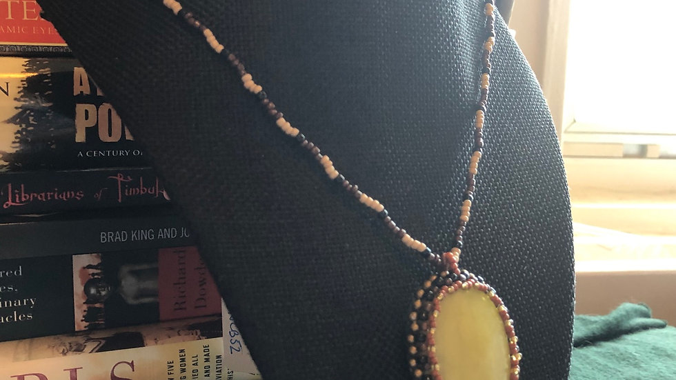 New Jade Beaded Necklace