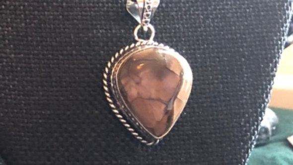 Breciated Mookaite Necklace