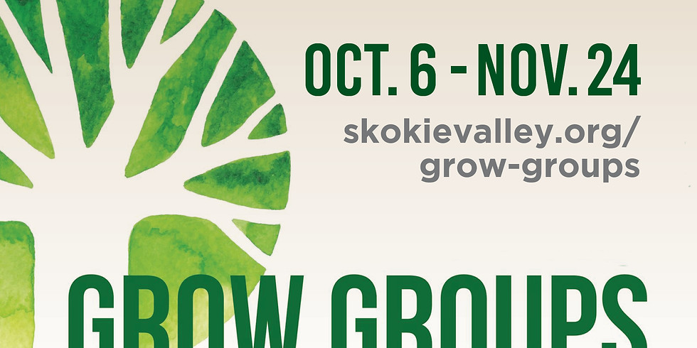 Grow Groups Fall 2019