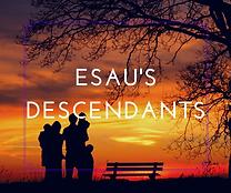 Esau's Descendants