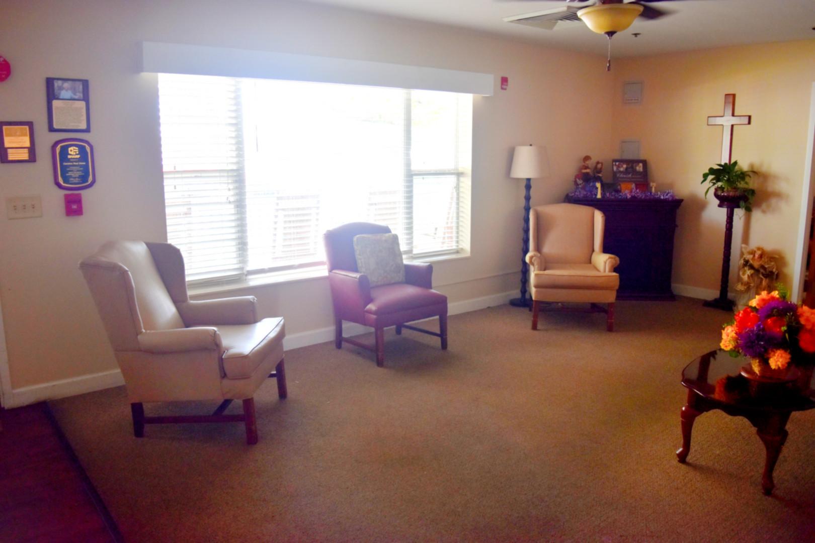 Carolina Rest Home - Lobby