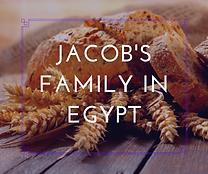 Jacob's Family in Egypt