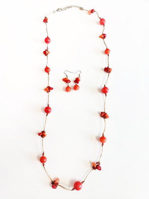 Red/Orange Necklace