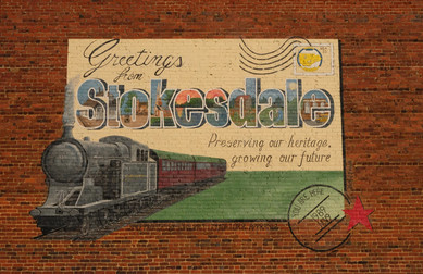 Stokesdale Mural