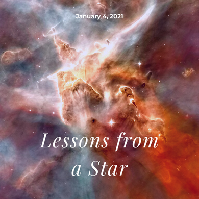 Lessons from a Star