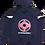 Thumbnail: Svart treningsdress (bukse og genser)