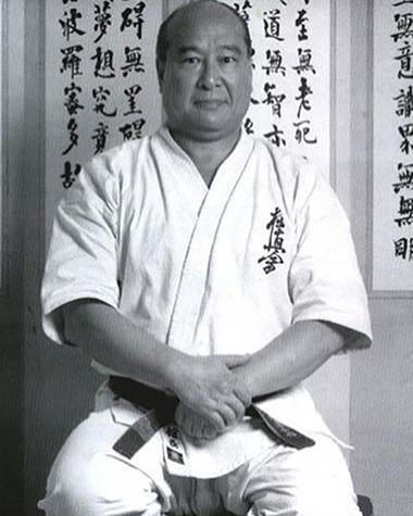 Masutatsu Oyama, founder of kyokushinkai