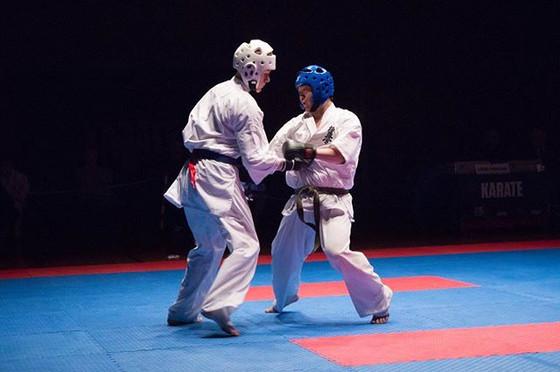 NM i fullkontakt karate var en herlig op